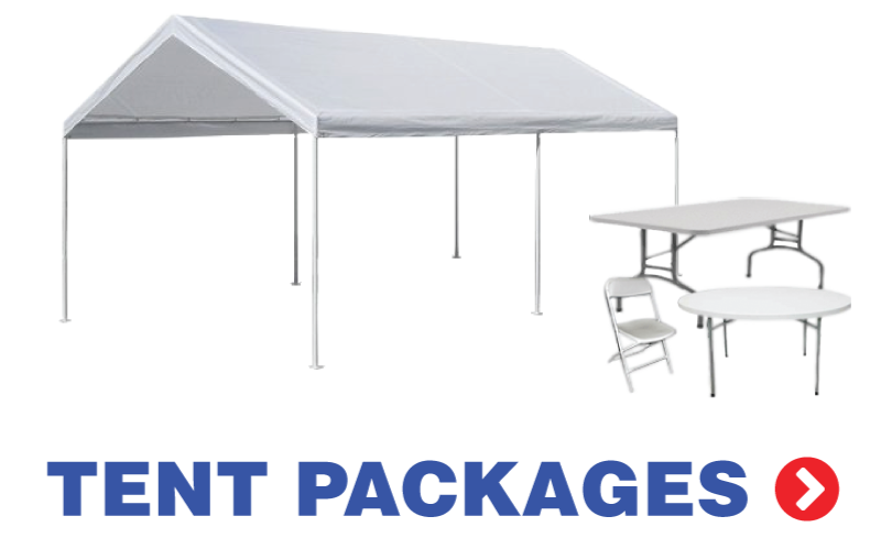 Long Island Party Tent Rentals - Outdoor table tent